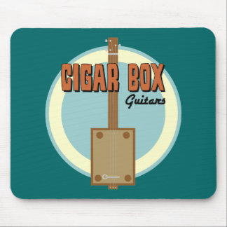 Cigar Box Guitar Mouse Pad
