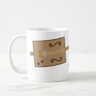 Cigar Box Guitar Classic White Coffee Mug