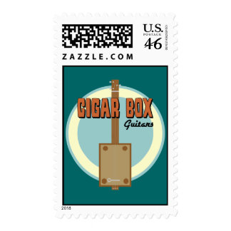 Cigar Box Guitar Postage