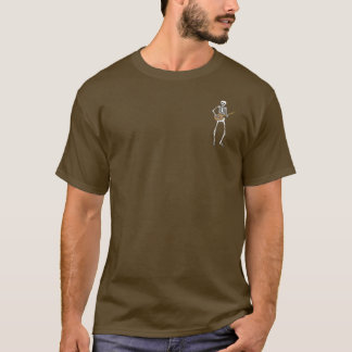 Cigar Box Guitar Skeleton T-Shirt