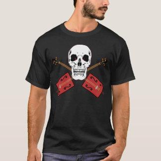Cigar Box Guitar Skull T-Shirt