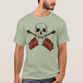 Cigar Box Guitar Skull T-Shirt