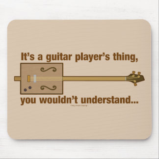 Cigar Box Guitar Thing Mouse Pad