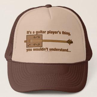 Cigar Box Guitar Thing Trucker Hat