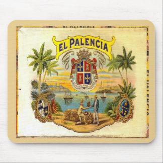 Cigar Box Lid El Palencia 2 Mouse Mat