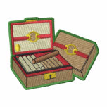 Cigar Box Logo Track Jacket