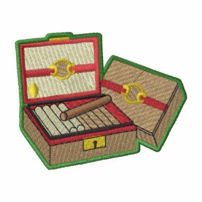 Cigar Box Logo Polo Shirt