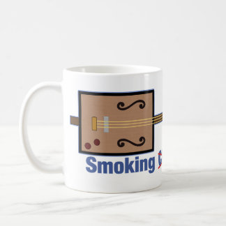 Cigar Box Smoking Guitars Classic White Coffee Mug