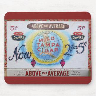 Cigar Box Vintage Label Mousepad