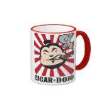 Cigar Dojo Ringer Mug