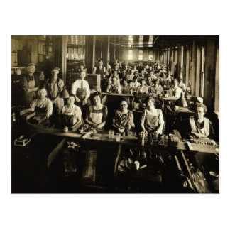 Cigar Factory circa 1900, Red Lion, York Co., PA Postcard