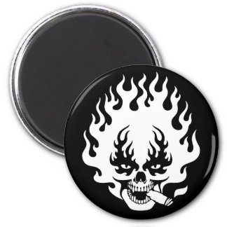 cigar-flame-sk-DKT 2 Inch Round Magnet