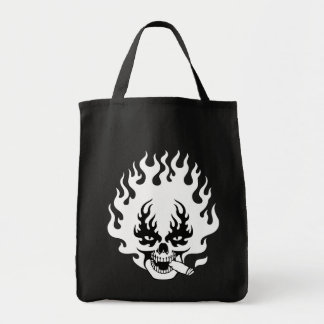 cigar-flame-sk-DKT Tote Bag