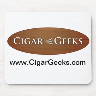 Cigar Geeks Mouse Pad
