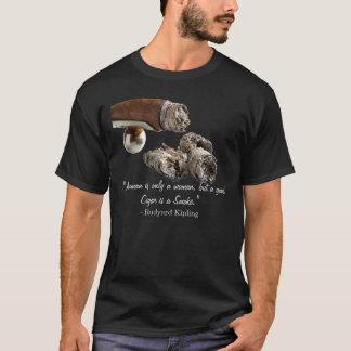 Cigar Kipling Quote T-Shirt