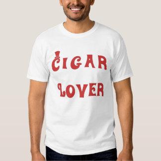 Cigar Lover brown Playeras