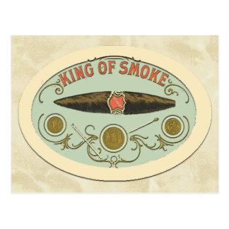 Cigar Lovers: King of Smoke Postcard