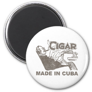 Cigar Made In Cuba Magnet