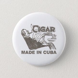 Cigar Made In Cuba Pinback Button