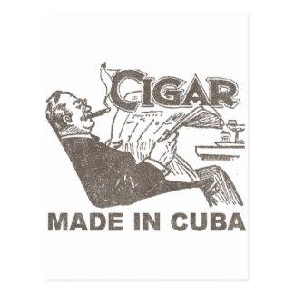 Cigar Made In Cuba Postcard
