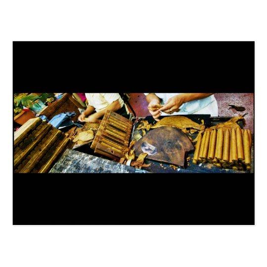 Cigar Making on Arthur Avenue postcard