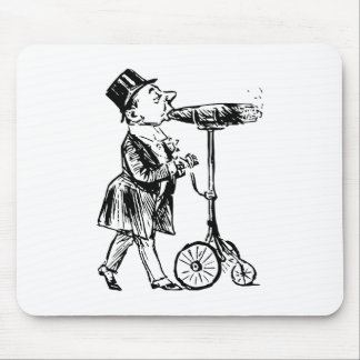 Cigar on wheels cigar on wheels mouse pads
