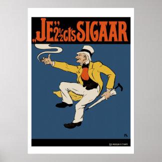 Cigar Poster/Print: The 2 1/2 cents Cigar Poster
