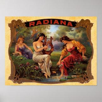Cigar Radiana Print