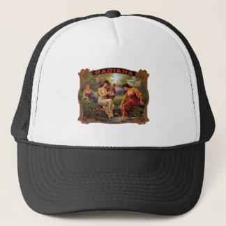 Cigar Radiana Vintage Tobacco Trucker Hat