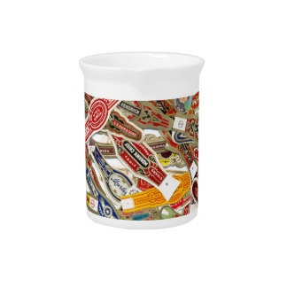 Cigar Ring Wrappers Pitcher