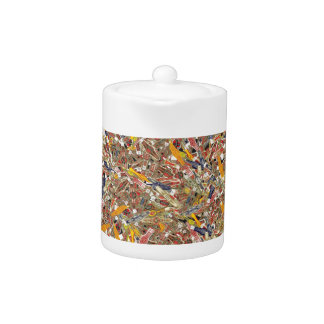 Cigar Ring Wrappers Teapot