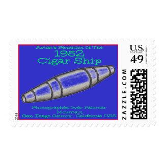 Cigar Ship-1952-Palomar Mountain-San Diego County Postage