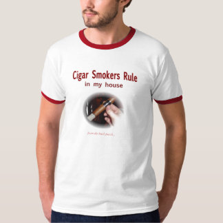 Cigar Smoker Tee Shirt