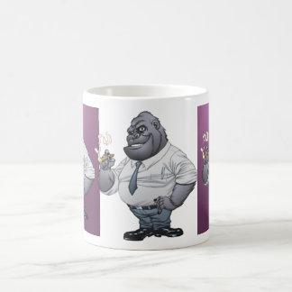 Cigar Smoking Business Man Boss Gorilla by Al Rio Coffee Mug