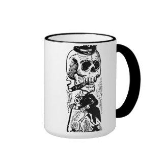 Cigar Smoking Gentleman Ringer Coffee Mug