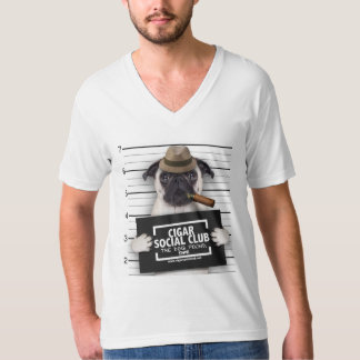 CIGAR SOCIAL CLUB V NECK T-Shirt