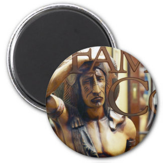 Cigar Store Indian Magnets