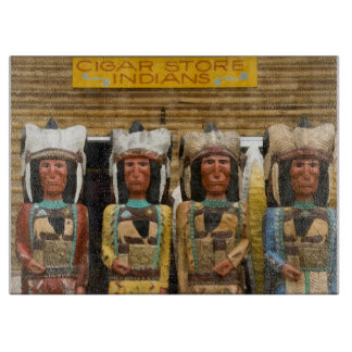 Cigar Store Indian statues Cutting Boards