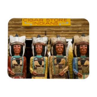 Cigar Store Indian statues Vinyl Magnet