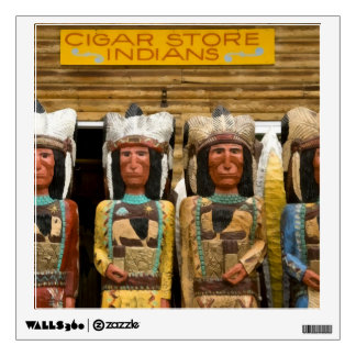 Cigar Store Indian statues Wall Skins