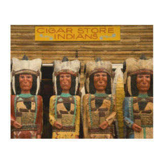 Cigar Store Indian statues Wood Canvas