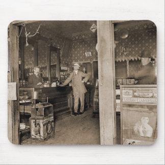 Cigar Store Interior Circa 1900 Mouse Pad