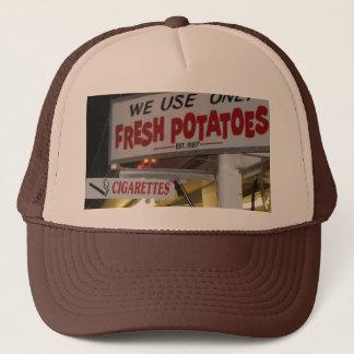 Cigarette and Potato Scenes From The Fair Maine Trucker Hat