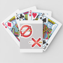 cigarette bicycle playing cards