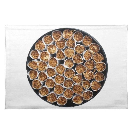 Cigarette box placemat