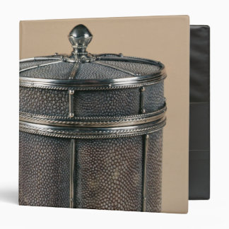 Cigarette box with shagreen sides, 1928 binder