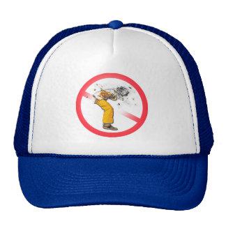 Cigarette Butt Man Trucker Hat