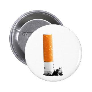 Cigarette Butt Pinback Button