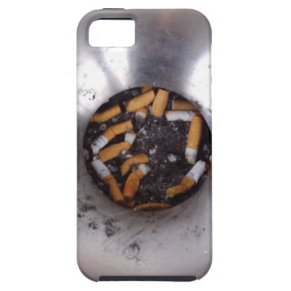 Cigarette Butts in Silver Smokers Ashtray, Funny iPhone SE/5/5s Case
