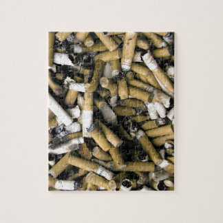 Cigarette Butts Jigsaw Puzzle